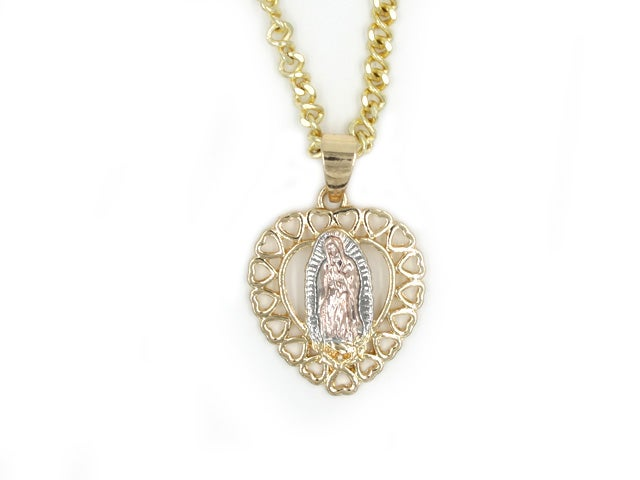 Image of Lupe Heart Necklace