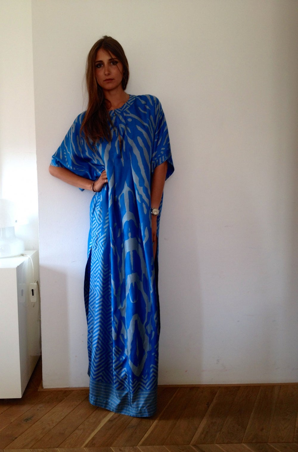 Image of ROB long dress with print