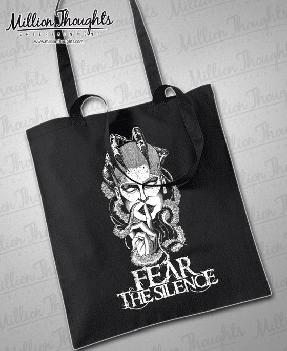 "Image of ""FEAR THE SILENCE"" TOTE-BAG"