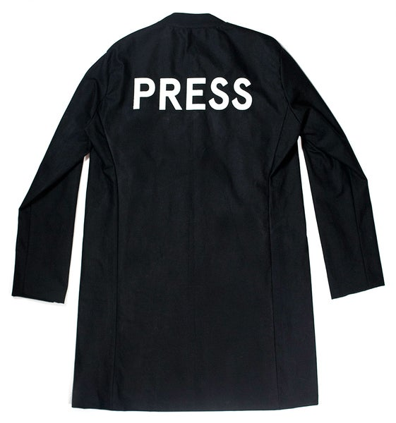 Image of Enlogated Press Overcoat