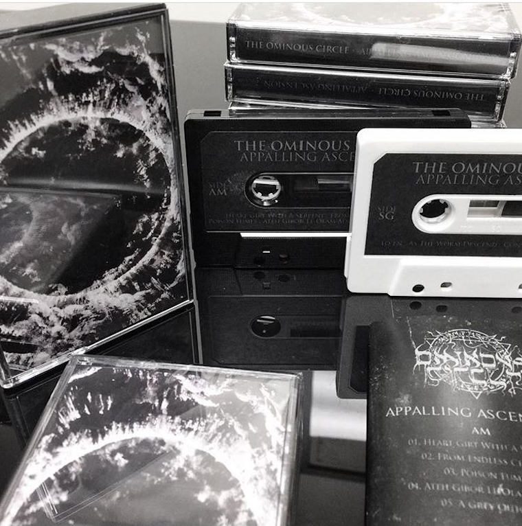 "Image of ""Appalling Ascension"" Black tape"