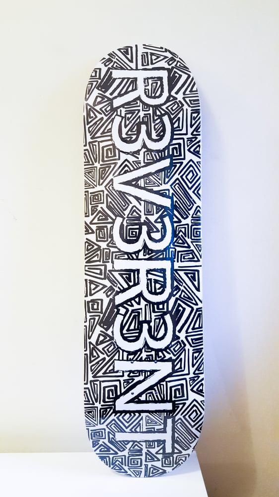 "Image of R3V3R3NT ""Unity print"" Skateboard"