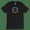 Resist wreath tshirt - Black