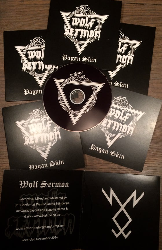 Image of Wolf Sermon demo CD Pagan Skin