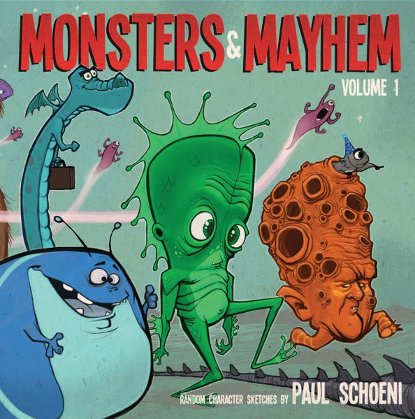 Image of Monsters & Mayhem SKETCHBOOK