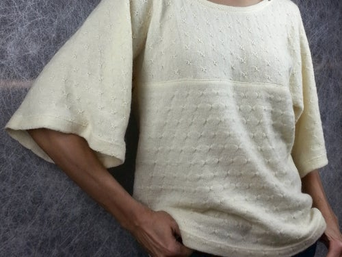 Image of Wool Tuck Jersey Sweater Knit - Saint Cloud (by the half yard)