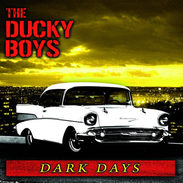 Image of Ducky Boys - Dark Days LP (Exclusive color vinyl)
