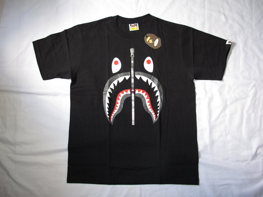 Image of A Bathing Ape (Bape) - Shark Plain (Black)