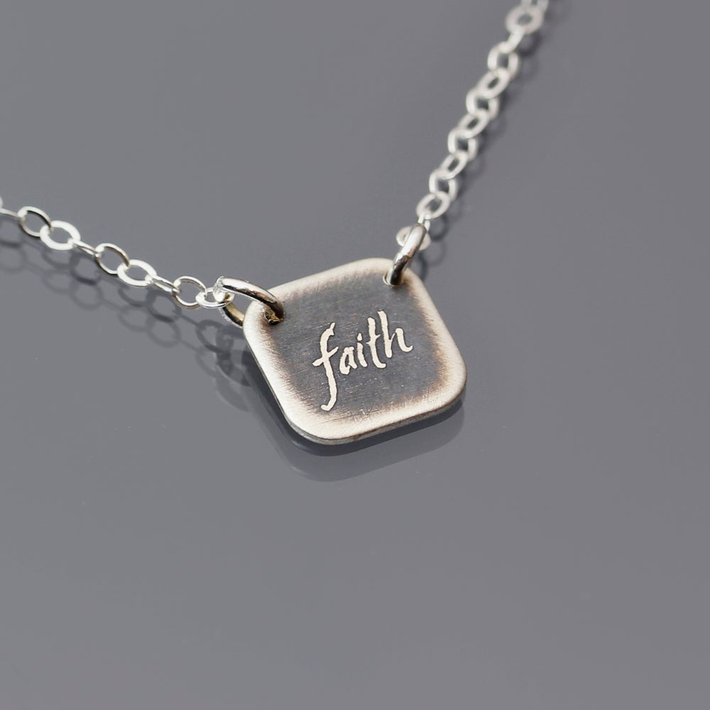 Image of Tiny Faith Necklace
