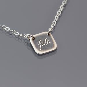 Image of Tiny Faith Necklace