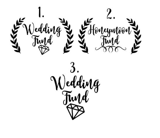 Wedding/Honeymoon Fund / Pinny's Rule