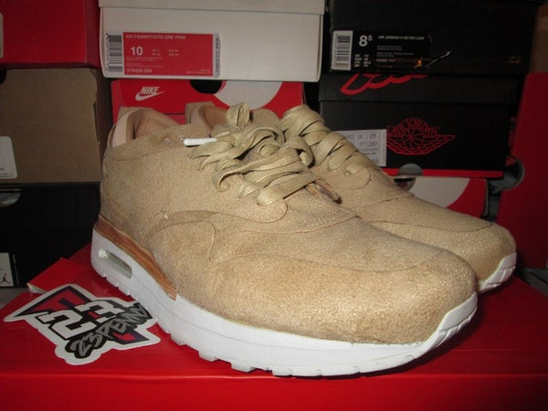 "Air Max 1 Royal ""Summit White/Linen"" *PRE-OWNED* - FAMPRICE.COM by 23PENNY"
