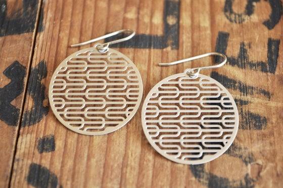 Image of Ripples Earrings medium