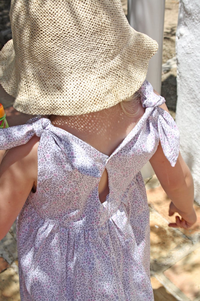 Image of Rabbit Dress little flowers