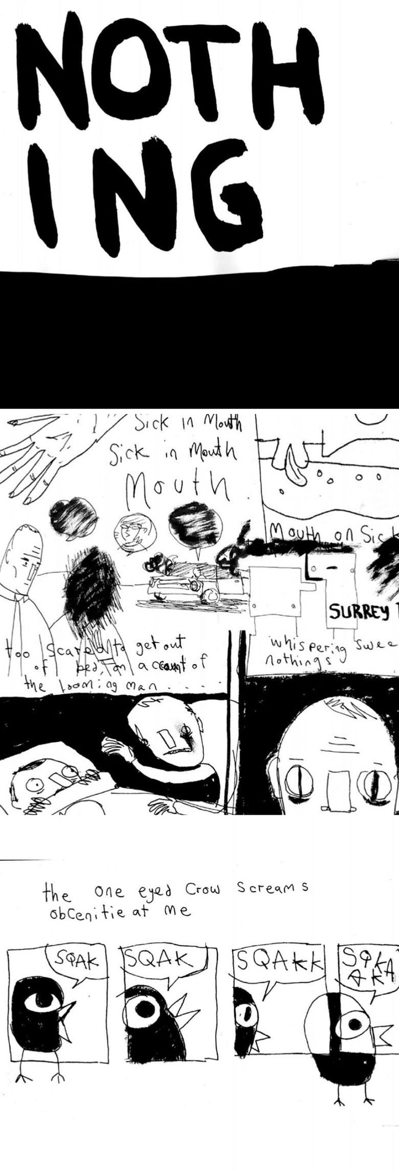 Image of Nothing - Comic