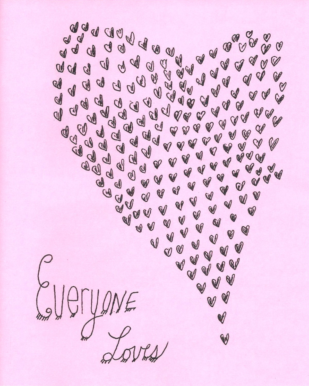Image of Everyone Loves - Zine, 2004