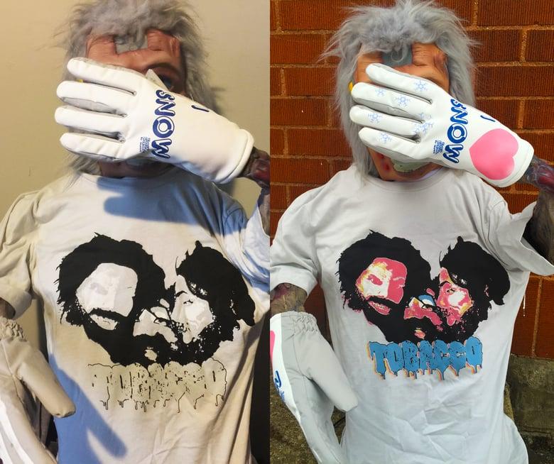 Image of TOBACCO Beard Love TShirt (UV Color Changing)