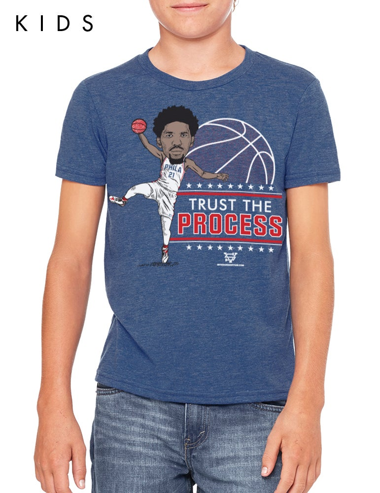 Image of Trust The Process Kids T-Shirt