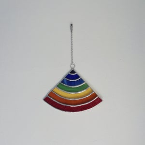Image of Rainbow Suncatcher - 10% of proceeds to the ACLU