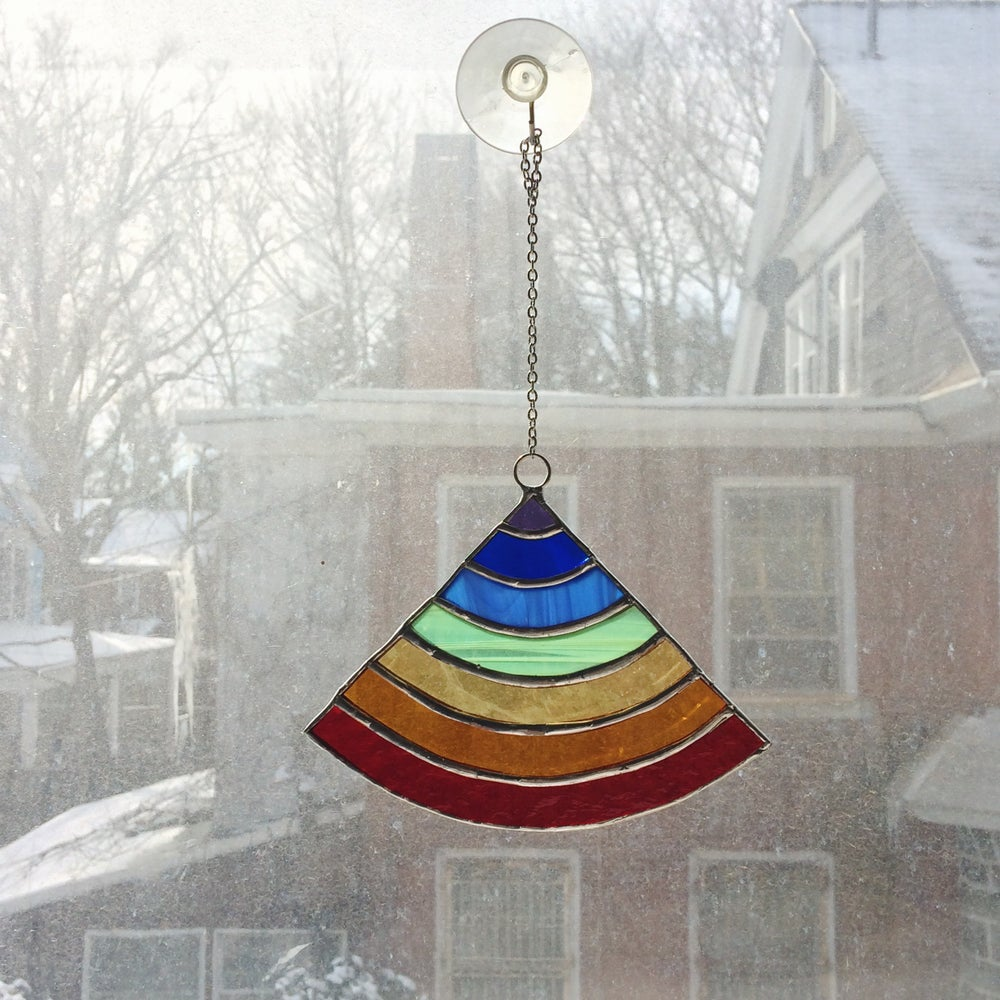 Image of Rainbow Suncatcher - 20% of proceeds to the ACLU