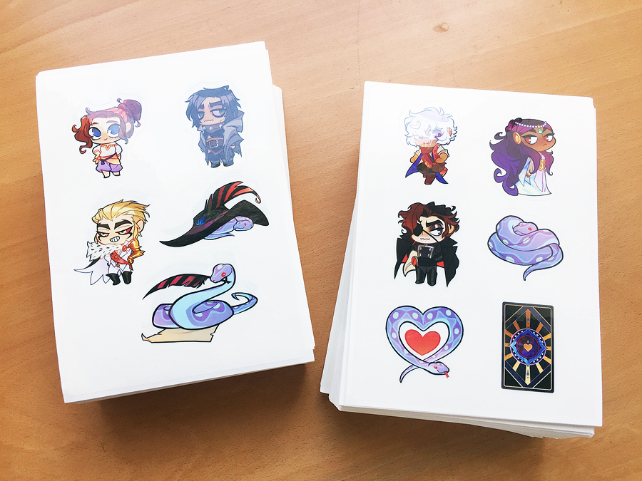 Image of The Arcana Stickers
