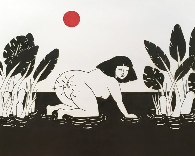 Image of Be Careful Not to Overwater Your Plants // Print