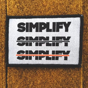 Image of SIMPLIFY MORALE PATCH