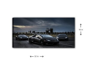 Image of Storm Troopers Wall Canvas