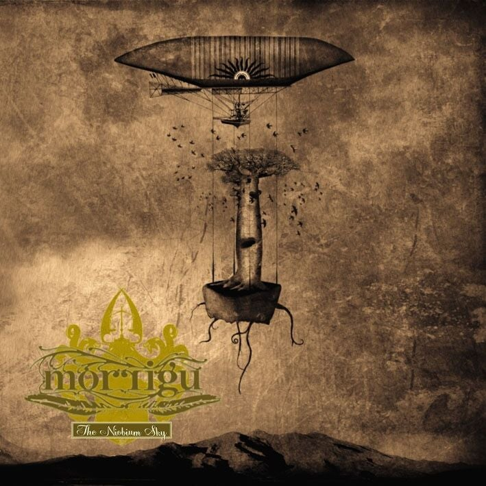 Image of Morrigu The Niobium Sky (Album 2009)