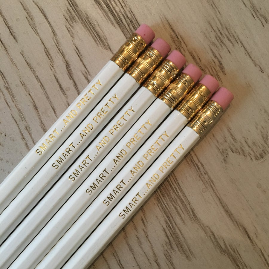 Image of Pencils - SMART...AND PRETTY