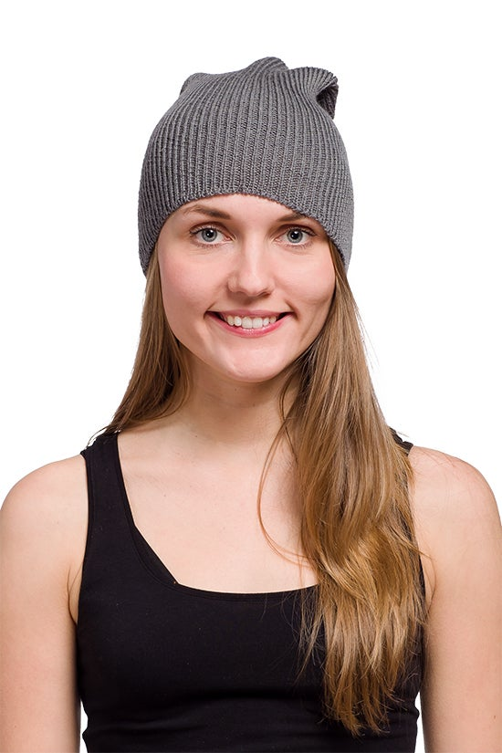Image of WOOLEN BEANIE Grey