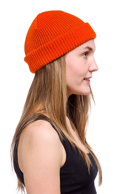 Image of WOOLEN BEANIE Orange