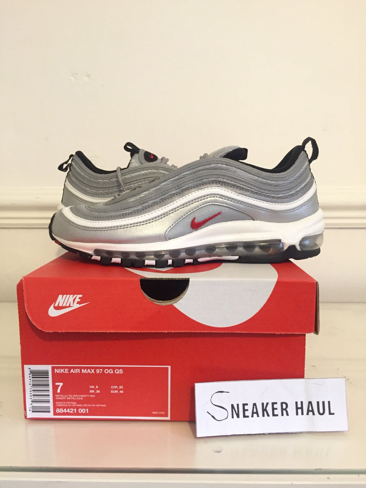 online store 1d36a 09042 Image of Nike Air Max 97 OG QS Silver Bullet 2016 ...