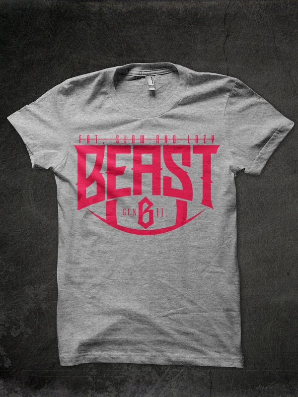 Image of The BEAST goes pink.