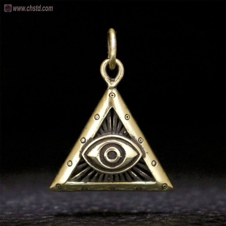 Image of EYE OF PROVIDENCE - ALL SEEING EYE - EYE OF HORUS