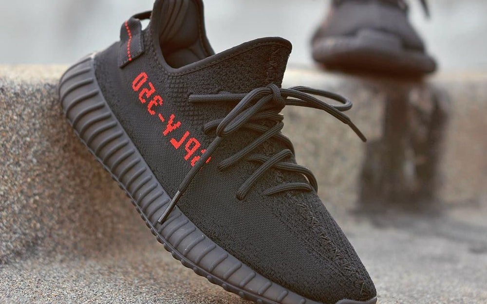best sneakers 09d79 eabd1 Adidas Yeezy 350 V2 Bred