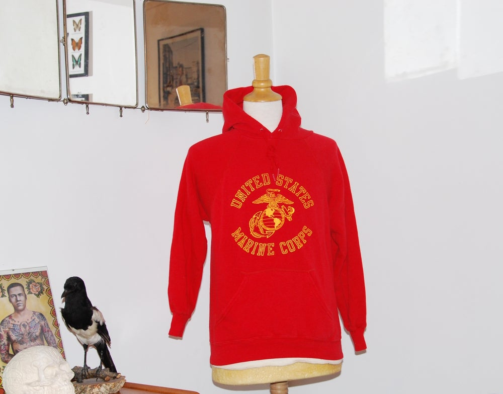 Image of USMC vintage sweatshirt from the 70's