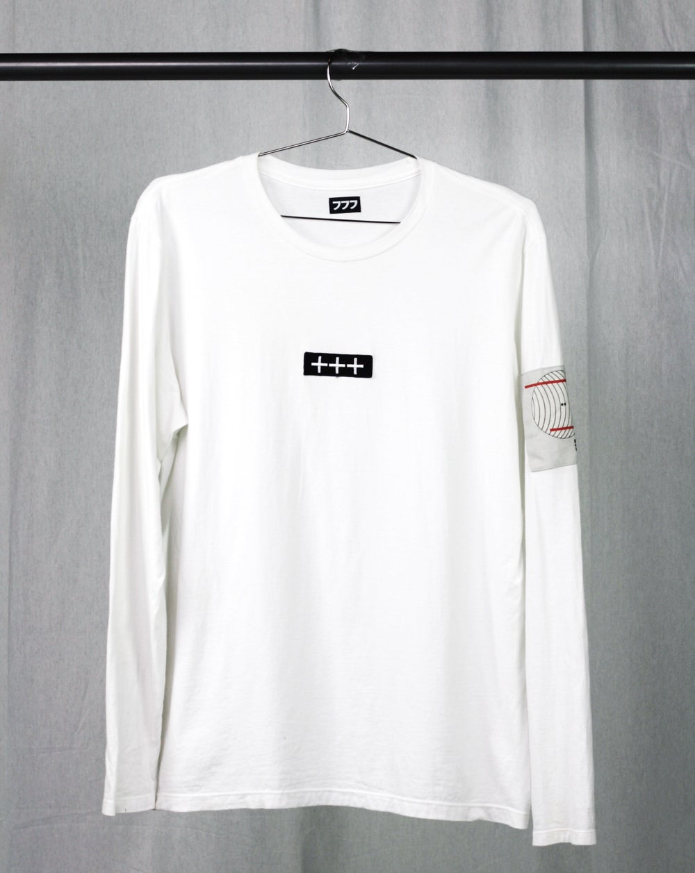 Image of VISUAL PLEASURE LONG SLEEVE - WHITE