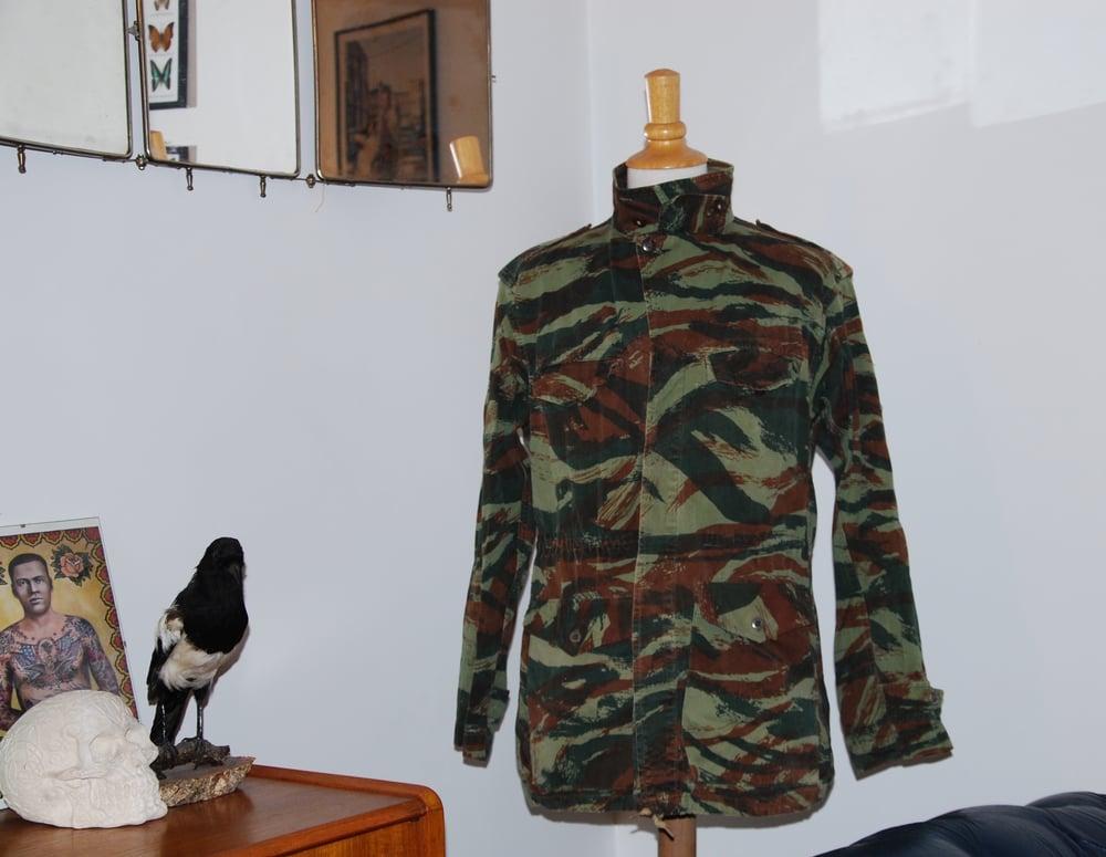 Image of French lizard camouflage jacket