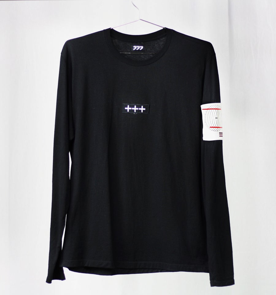 Image of VISUAL PLEASURE LONG SLEEVE - BLACK