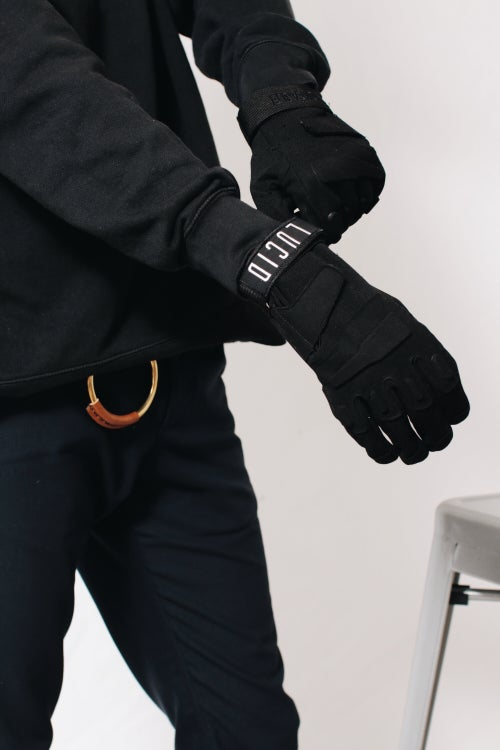 Image of SOULJA GLOVES - BLACK