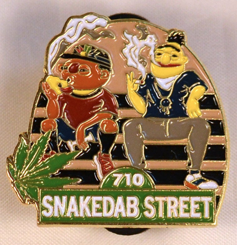 Image of Snakedab Street Hatpin