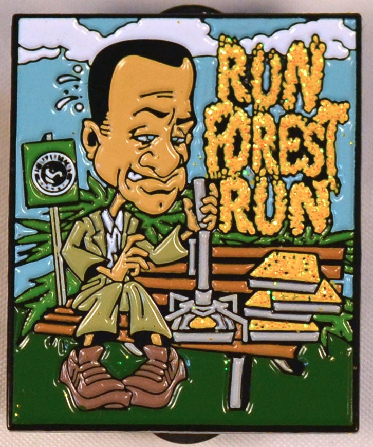 Image of Run Forest Run Hatpin