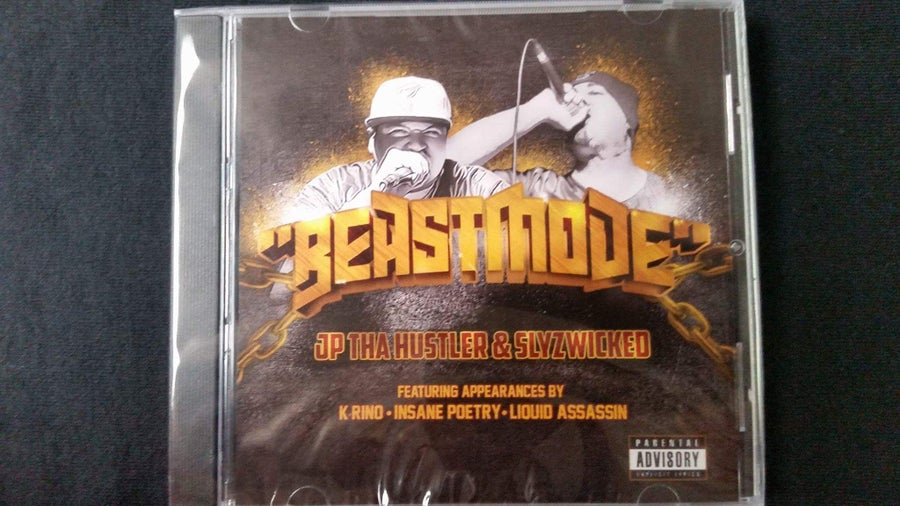 Image of JP THA HUSTLER & SlyzWicked - Beast mode CD