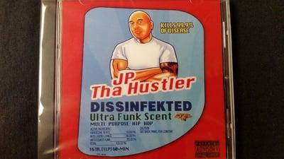 Image of JP THA HUSTLER- Dissinfekted cd