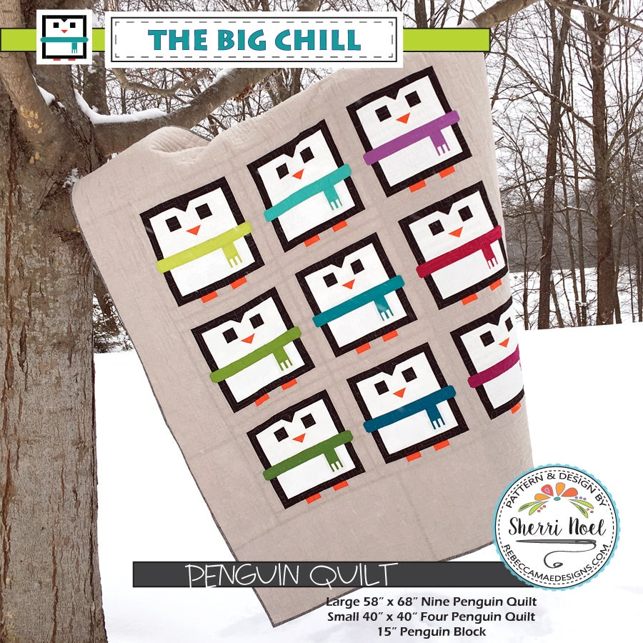 Image of The Big Chill ~ Penguin Quilt Pattern