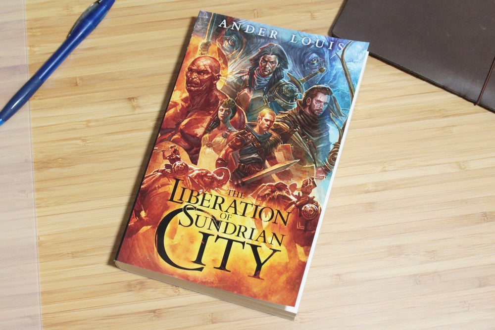 Image of The Liberation Of Sundrian City - Paperback Novel