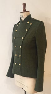 Image of Tweed military fencing jacket