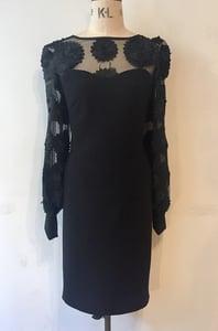 Image of Black dahlia dress