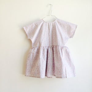 Image of Square Dress- little flowers
